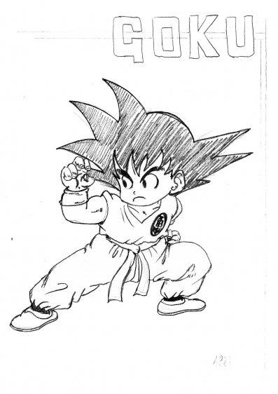 giuseppe-urso-dragon-ball-goku-child