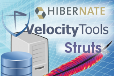 CRUD functionality with Struts MVC and Hibernate