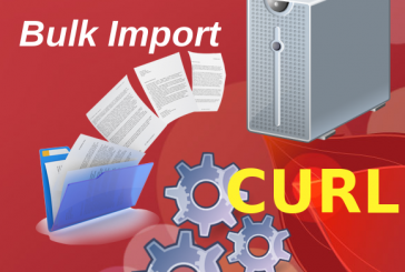 Massive Bulk Import in Alfresco using CURL