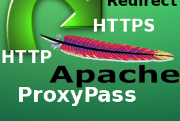 Redirect url da HTTP verso HTTPS e viceversa con Apache mod_proxy