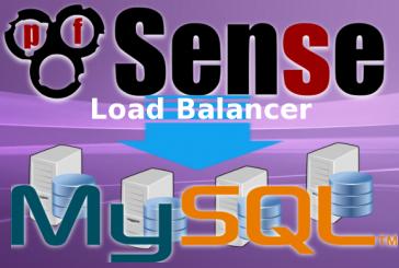 Mysql Cluster con Load Balancer pfSense