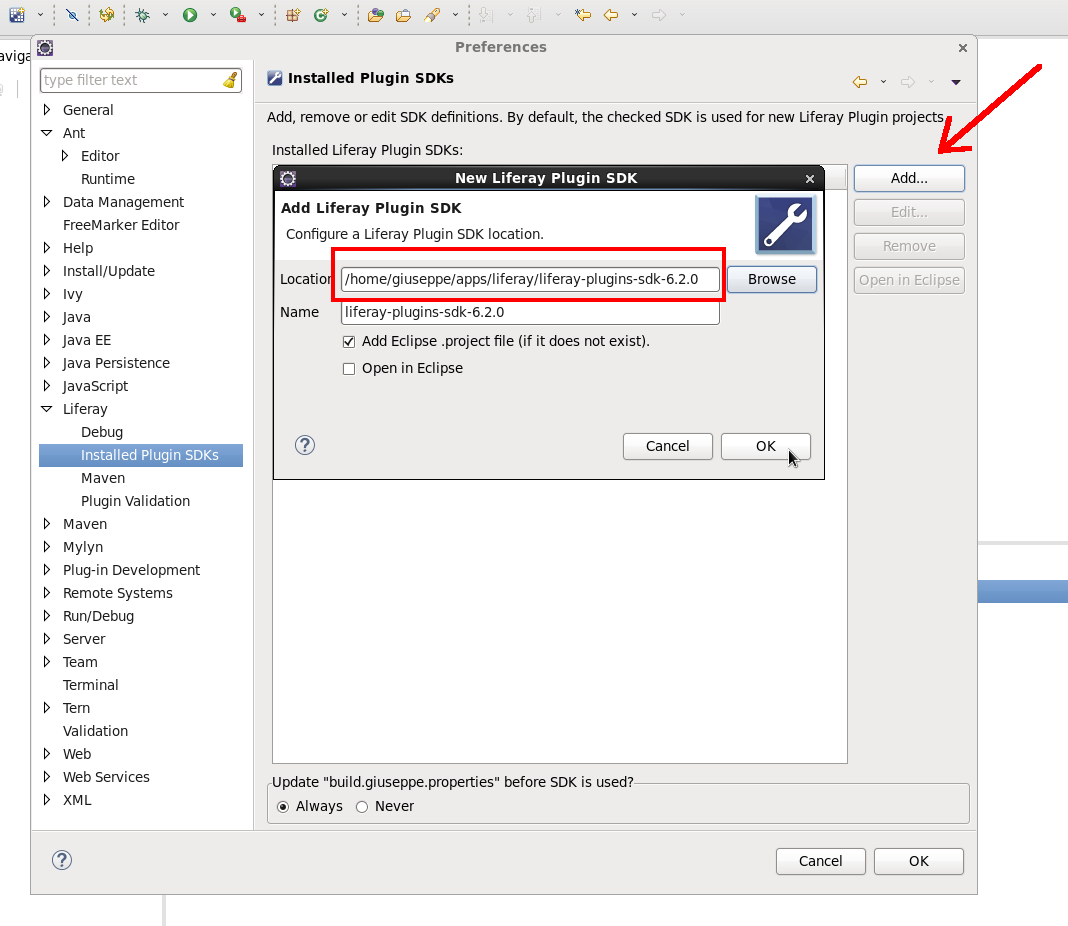 giuseppe-urso-configurare-liferay-plugin-SDK-in-eclipse-02