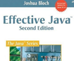Effective Java 2nd ed. Image
