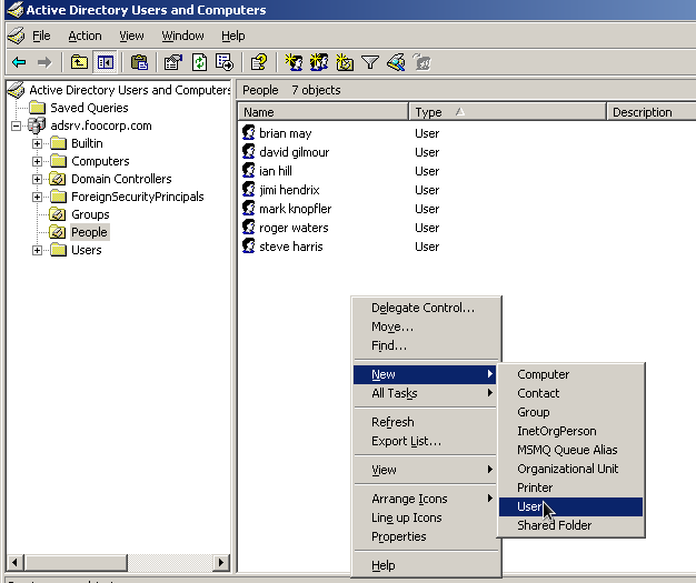 Alfresco LDAP integration, two examples: Netscape Directory