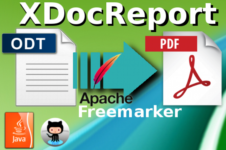 ODT to PDF using XDocReport and Apache Freemarker - Giuseppe